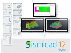 Concrete, Sismicad Legno Software FEM di calcolo strutturale per elementi in legno