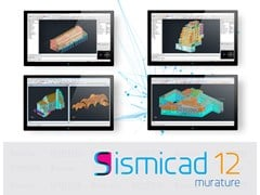 Concrete, Sismicad Muratura Verifica di strutture in muratura