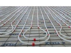 Pannello radiante a pavimentoSistema Industriale su rete - RDZ