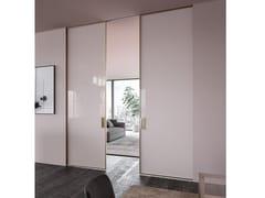 Linvisibile, Scorrevole Centro Parete Linea Porta scorrevole centro parete in vetro