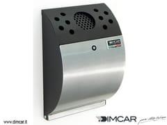 Posacenere per spazi pubblici in acciaio zincatoPosacenere Smokers - DIMCAR