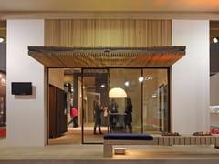 Frangisole in legnoFrangisole con apertura a ginocchio - CARMINATI SERRAMENTI