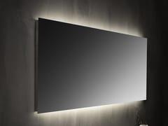 Specchio con illuminazione integrata da parete Specchio con illuminazione integrata -