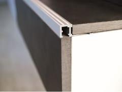 Profilo paragradino in alluminio anodizzatoSQUAREJOLLY SJR - PROFILITEC