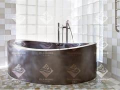 Diamond Spas, Vasca da bagno ellittica Vasca da bagno centro stanza in acciaio inox