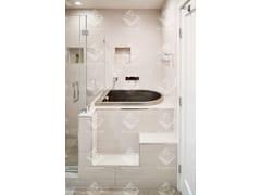 Vasca da bagno con seduta in acciaio inox da incassoJAPANESE   Vasca da bagno ad incasso - DIAMOND SPAS