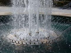 Accessorio per fontane in acciaio inoxAnelli e collettori inox per fontane - CASCADE