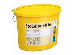 Pittura ai silicatiStoColor Sil In - STO ITALIA