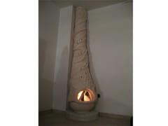 Stufa a legna in pietra naturaleStufa 2 - GARDEN HOUSE LAZZERINI