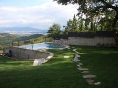 Piscina interrata in pietra naturalePiscina 4 - GARDEN HOUSE LAZZERINI