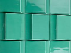 Theia, TÂMEGA Piastrelle con superficie tridimensionale in ceramica per interni