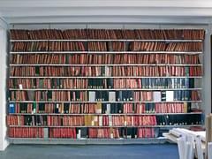 Libreria ufficio a giorno alta autoportante in acciaioT-99 - SELLEX