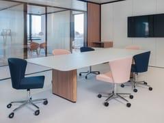 Tavolo da riunione con sistema passacaviT'S | Tavolo da riunione - CIDER
