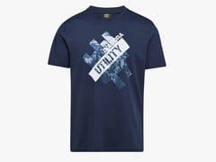DIADORA UTILITY, T-SHIRT GRAPHIC ORGANIC BLUE/DEEP SPACE T-shirt da lavoro