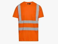 DIADORA UTILITY, T-SHIRT HV ISO ARANCIONE FLUO T-shirt da lavoro