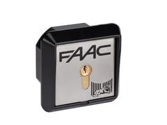 Pulsanti a chiave a installazione da incasso o su colonnettaT20-T21 | Automazione per cancelli - FAAC SOC. UNIPERSONALE