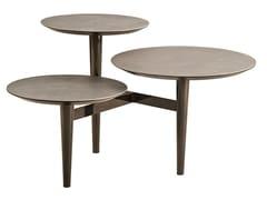 Tavolino rotondo in metallo da salottoT150C - GAMMA ARREDAMENTI INTERNATIONAL