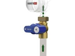 Valvola intercettazione con blocco adduzione flusso ridottoT4 PUNTO BLU® - TECO