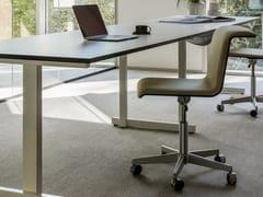 Sedia ufficio girevole in tessuto a 5 razzeTAB | Sedia ufficio - BULO