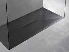 Piatto doccia antiscivolo filo pavimento in Texolid®TAB - RELAX DESIGN