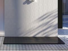Piatto doccia antiscivolo rettangolare in Luxolid®TAB SOLID - RELAX DESIGN