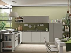 Cucina componibile senza maniglie TABLET HEAD - CREO KITCHENS BY LUBE