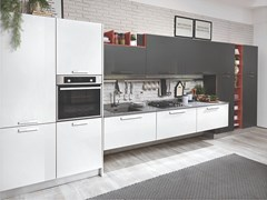 Cucina lineare sospesa TABLET | Cucina lineare - CREO KITCHENS BY LUBE