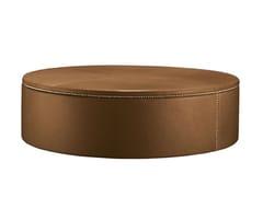 Pouf / tavolino in pelle TABOURET 120 -