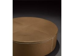 Pouf / tavolino in pelleTABOURET 120 - CASAMILANO
