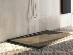 Piatto doccia antiscivolo incassato in Texolid®TAGLI - RELAX DESIGN