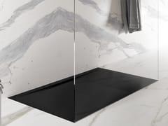 Piatto doccia filo pavimento rettangolare in Texolid®TAGLI SOLID - RELAX DESIGN