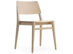 Sedia impilabile in faggio TAKE | Sedia - Take