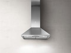 Cappa in acciaio inox a parete con illuminazione integrataTAMAYA - ELICA