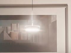 LAMPADA A SOSPENSIONE A LED A LUCE DIRETTA E INDIRETTA IN ACCIAIOTAMBÙ | LAMPADA A SOSPENSIONE - FIRMAMENTO MILANO