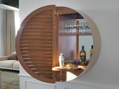 Mobile bar in legno in stile modernoTAO - PACINI & CAPPELLINI