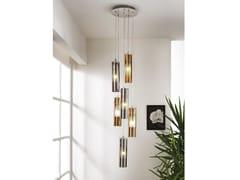 Lampada a sospensione in vetro borosilicato metallizzatoTAO | Lampada a sospensione - CANGINI & TUCCI