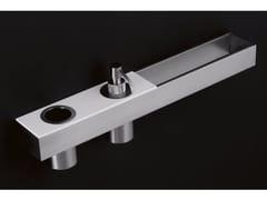 Antonio Lupi Design, TAPE Mensola bagno accessoriata in acciaio inox