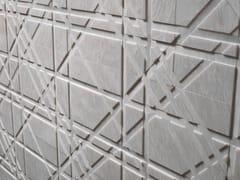 Rivestimento tridimensionale in marmoTARTAN - LITHOS DESIGN