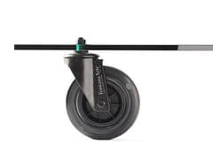 Tavolino in vetro float con ruote TAVOLO CON RUOTE Limited Edition -