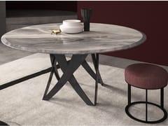 Tavolo rotondo in marmo TEBE | Tavolo rotondo - Contemporary