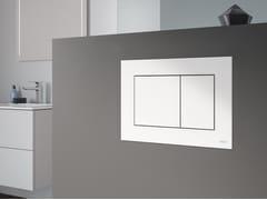 Placca di comando per wc in ABSTECEnow - TECE ITALIA