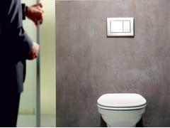 Placca di comando per wc in acciaio inoxTECEplanus - TECE ITALIA
