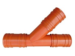 TEE 45° per tubo TECH3TECH3 | TEE 45° - ITALIANA CORRUGATI