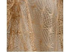 Tessuto ricamato in poliestere per tendeTECHNO FOLK - ALDECO, INTERIOR FABRICS