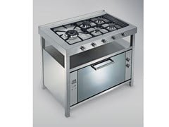 Cucina a libera installazione in acciaio inoxTECNE | Cucina a libera installazione - GPS INOX