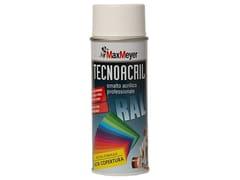 Smalto lucido acrilato per la decorazione e la protezione di superfici interne ed esterneTECNOACRIL SPRAY - MAXMEYER