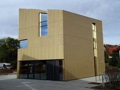 Lamiera stirata per rivestimenti di facciataTECU® Design_mesh - KME