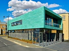 KME Architectural Solutions, TECU® Patina Rame pre-patinato per rivestimenti di coperture e facciate
