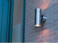 Applique per esterno a luce diretta e indiretta in acciaio inox TEKA 100 -