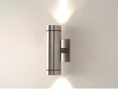 Applique per esterno a luce diretta e indiretta in acciaio inox TEKA IN -